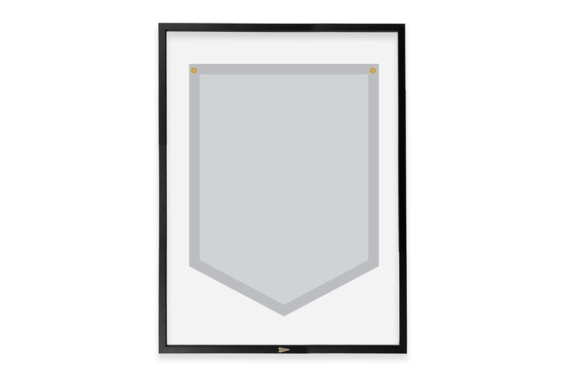 Add A Frame to your Oxford Pennant Camp Flag
