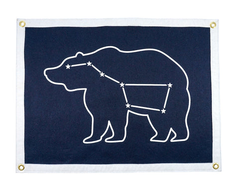 Big Dipper Camp Flag • Oxford Pennant Original