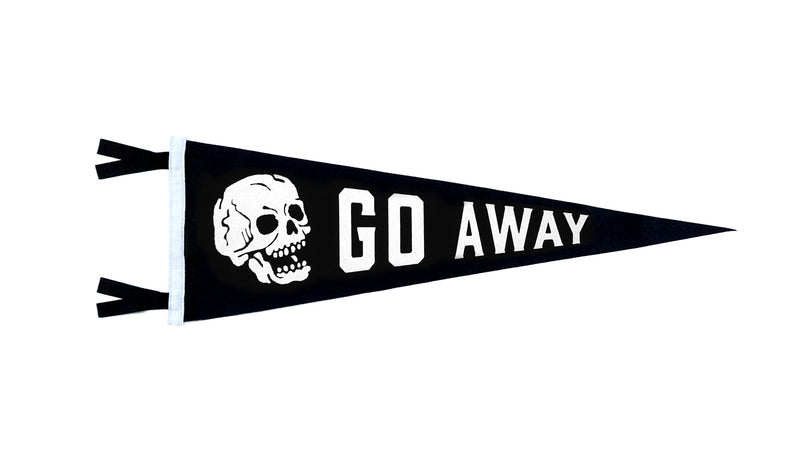 Go Away Pennant • Mummy's Hand x Oxford Pennant Original