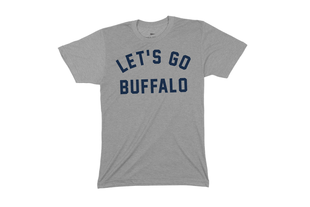 Let's Go Buffalo T-Shirt - Gray