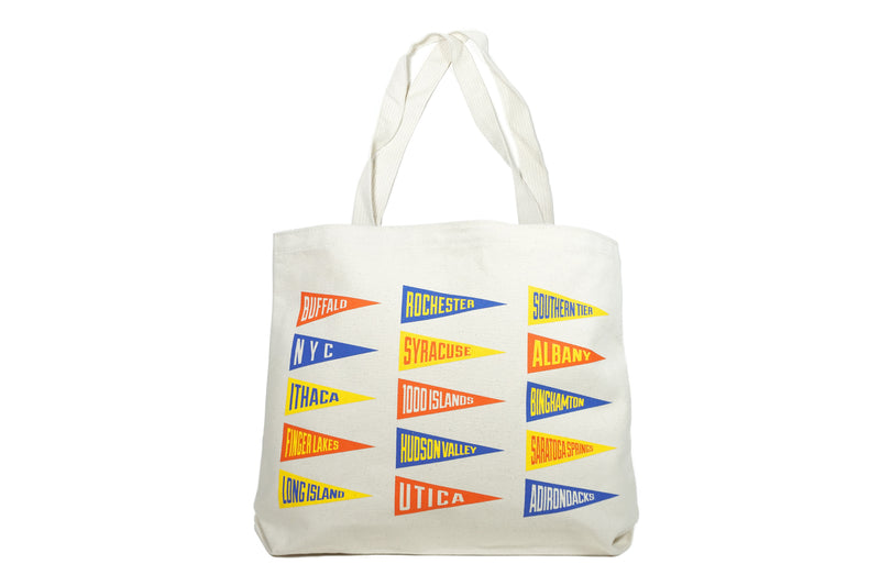 Oxford Pennant - New York State Tote Bag