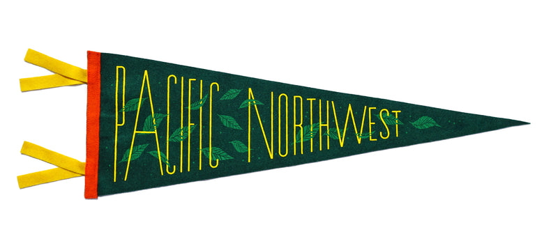 Pacific Northwest Pennant • Invisible Creature x Oxford Pennant x Freeman