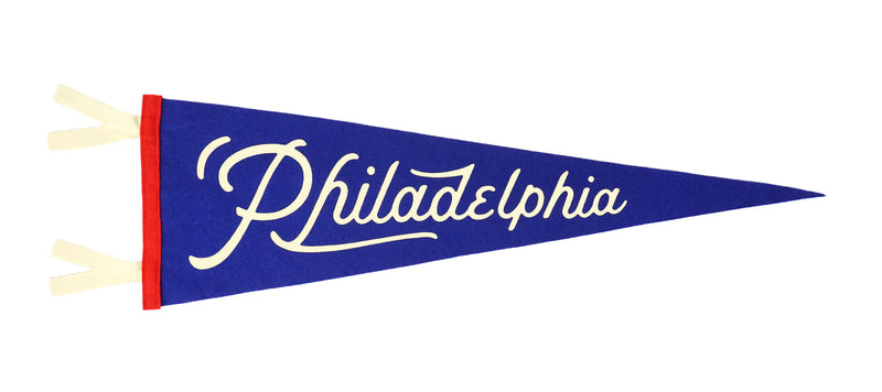 Philadelphia Pennant • United By Blue x True Hand Society x Oxford Pennant Original