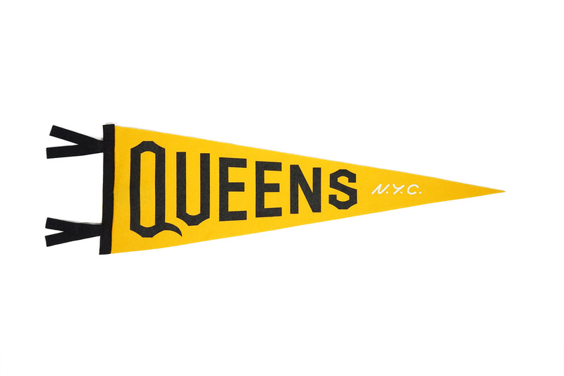 Queens Pennant • United By Blue x True Hand Society x Oxford Pennant Original