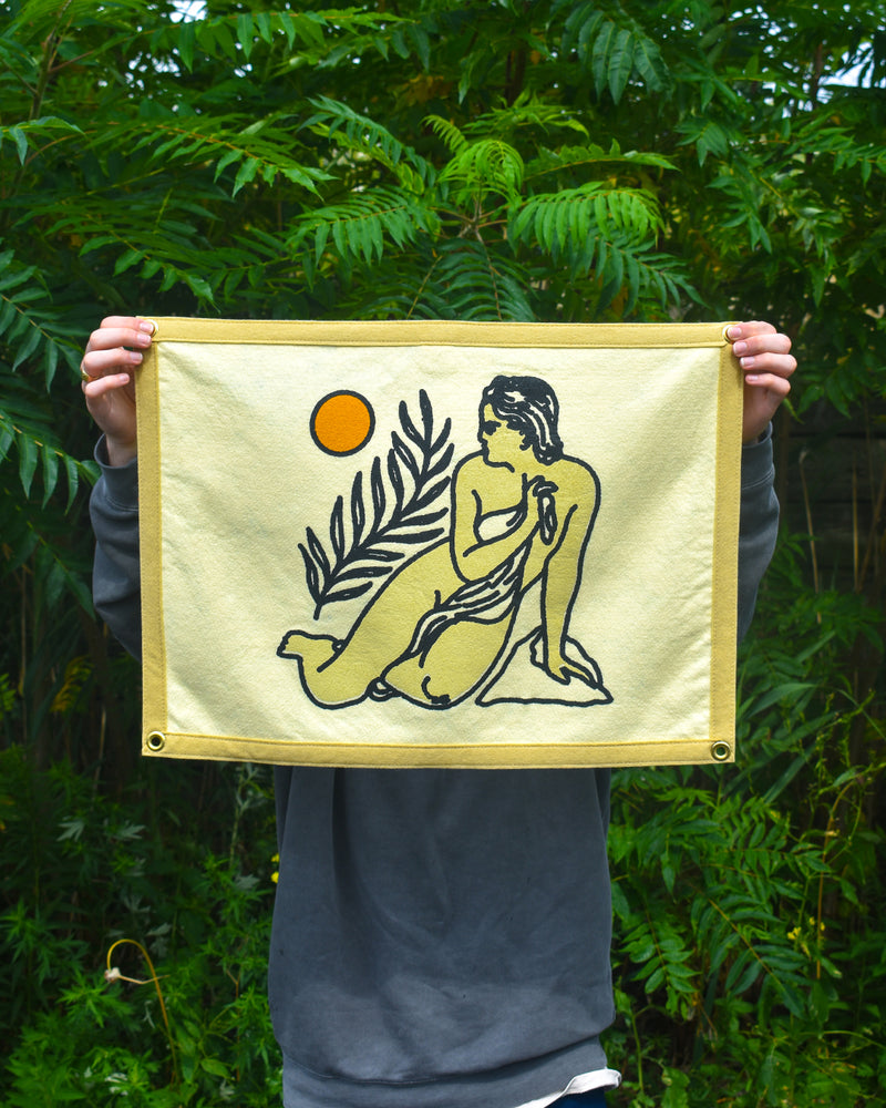 Olympia Camp Flag • Real Fun, Wow! x Oxford Pennant