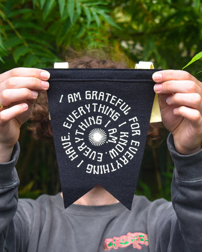 Grateful Fishtail Pennant • Real Fun, Wow! x Oxford Pennant