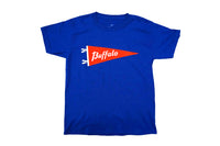 Let's Go Buffalo Kid's Tee • Oxford Pennant Original