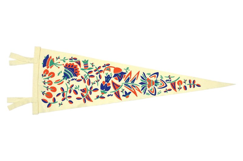 Full Bloom Pennant • Oxford Pennant Original