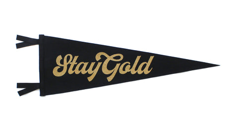 Stay Gold Pennant - Scott Naauao • Oxford Pennant Original