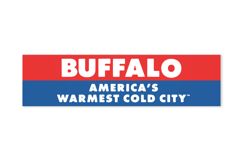 Oxford Pennant - Warmest Cold City™ Bumper Sticker
