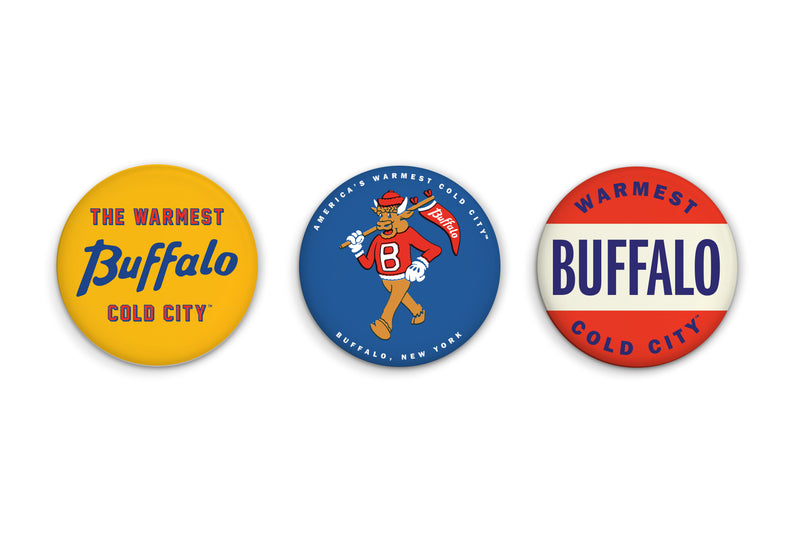 Oxford Pennant - Warmest Cold City™ Button Pack