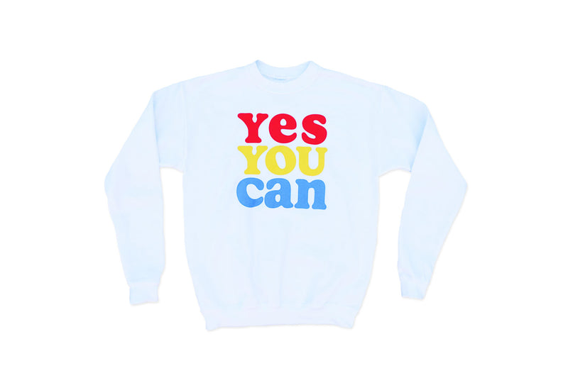Kelle Hampton x Oxford Pennant - Yes You Can Adult Crewneck