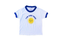 Kelle Hampton x Oxford Pennant - Yes You Can! Kid's Tee, Blue