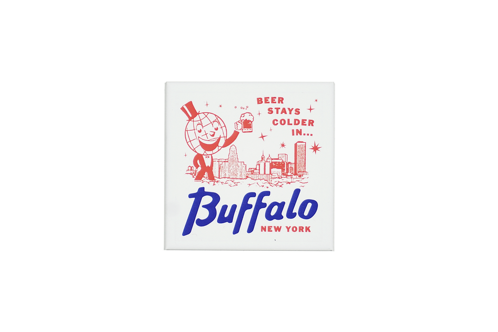 Beer Stays Colder in Buffalo Magnet