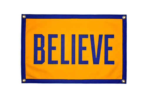 Believe Camp Flag