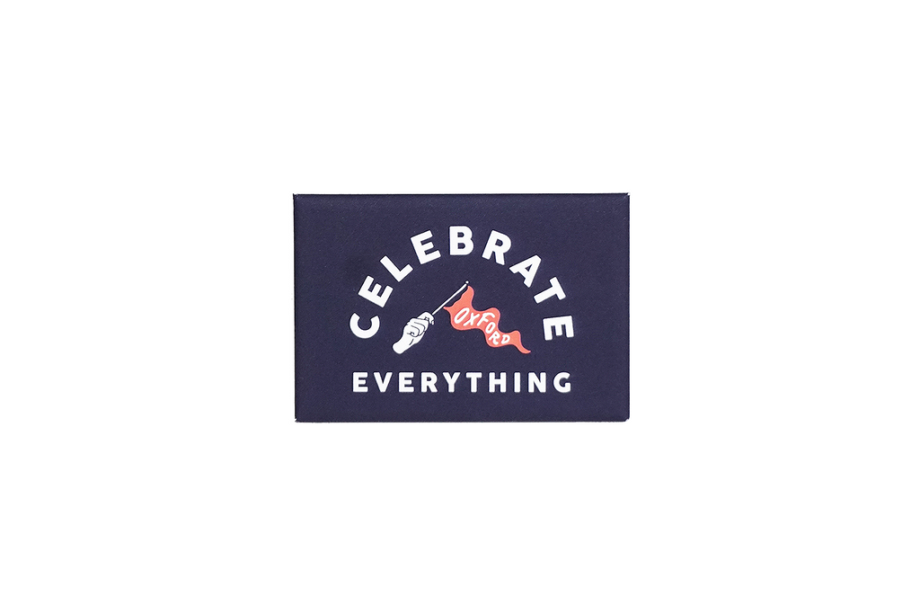 Oxford Pennant • Magnet - Celebrate Everything