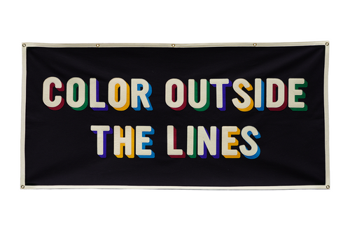 Color Outside The Lines Championship Banner