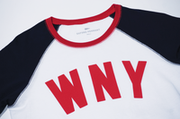 WNY Baseball Tee (Men's and Women's) • Oxford Pennant Original