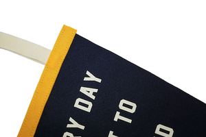 Kelle Hampton x Oxford Pennant - Everyday is a Gift Pennant