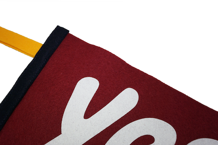 Yes You Can Pennant, Red • Kelle Hampton x Oxford Pennant
