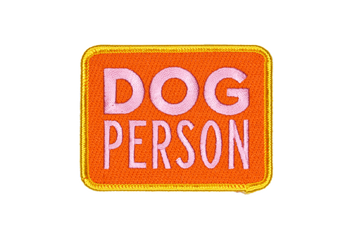 Dog Person Embroidered Patch • Maxine x Oxford Pennant