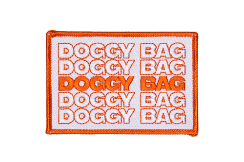Doggy Bag Embroidered Patch • Maxine x Oxford Pennant