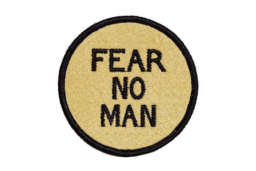 Oxford Pennant - Fear No Man - Embroidered Patch