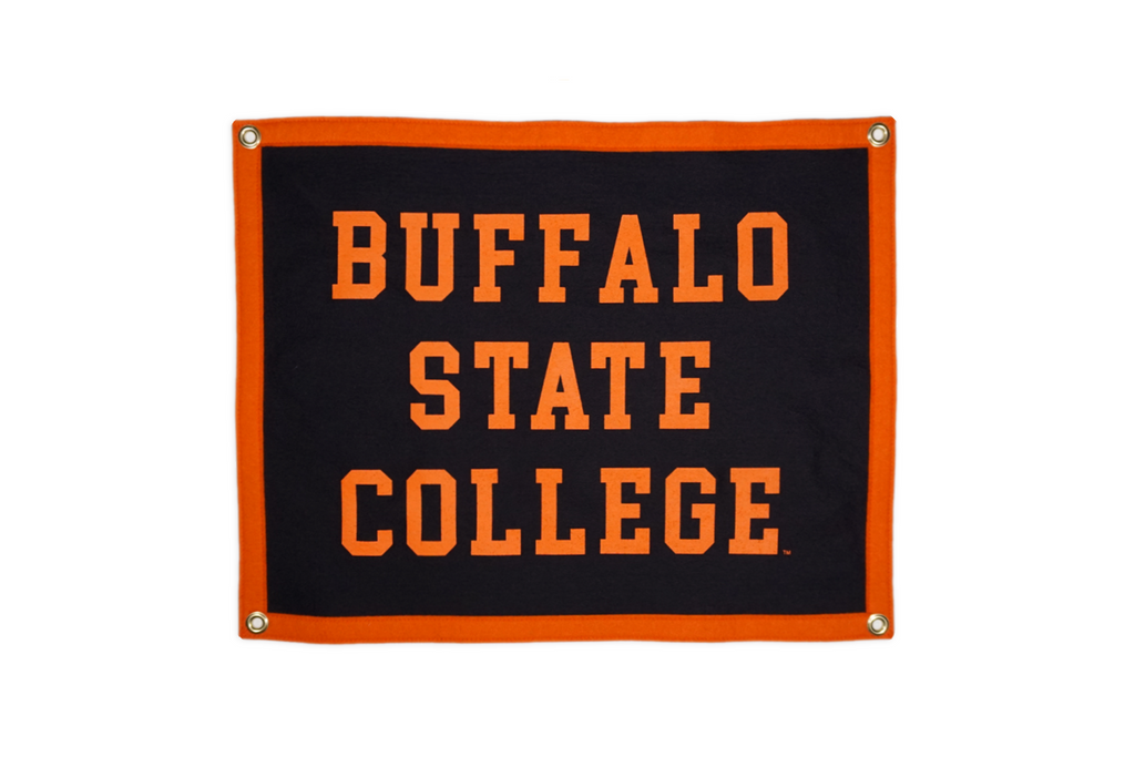 Buffalo State College Camp Flag • Oxford Pennant Original