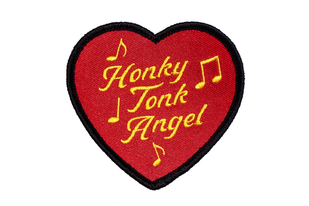 Oxford Pennant - Honky Tonk Angel - Embroidered Patch