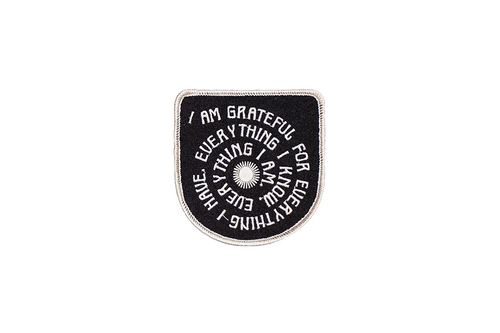 Grateful Embroidered Patch • Real Fun, Wow! x Oxford Pennant