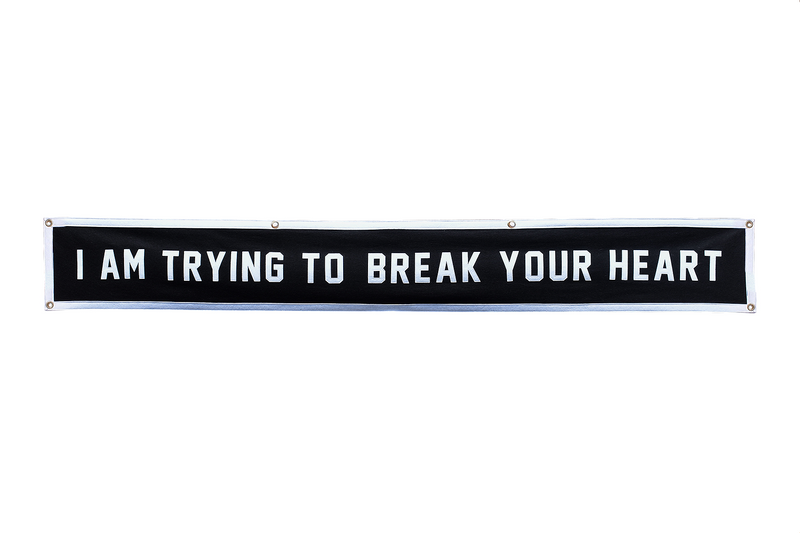 Wilco x Oxford Pennant • Championship Banner - I Am Trying To Break Your Heart