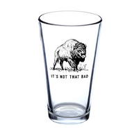 It's Not That Bad Pint Glass • Oxford Pennant Original