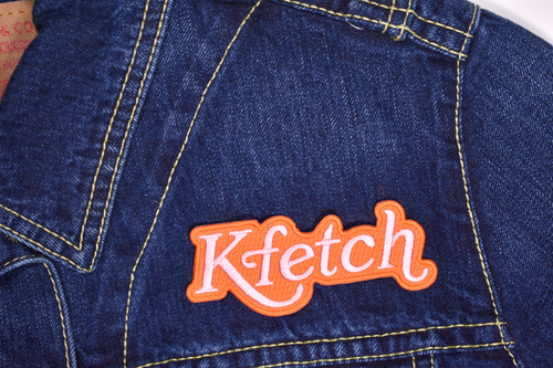 Kfetch Embroidered Patch • Maxine x Oxford Pennant