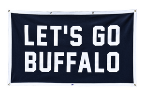 Let's Go Buffalo Championship Banner
