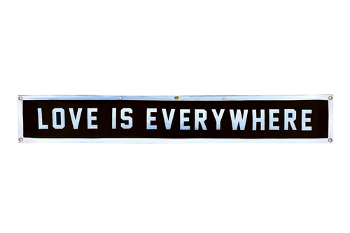 Love Is Everywhere Championship Banner • Wilco x Oxford Pennant Original