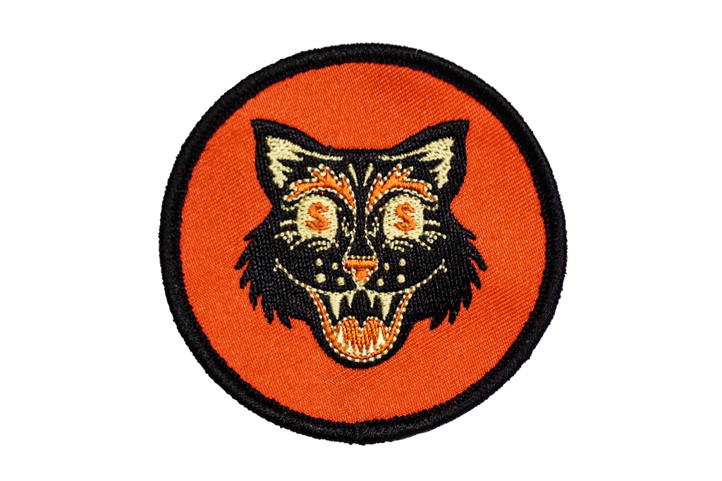 Oxford Pennant - Money Cat - Embroidered Patch