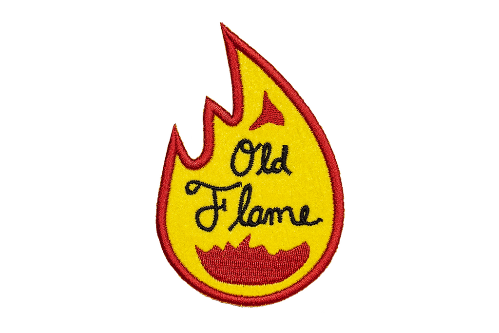 Oxford Pennant - Old Flame - Embroidered Patch