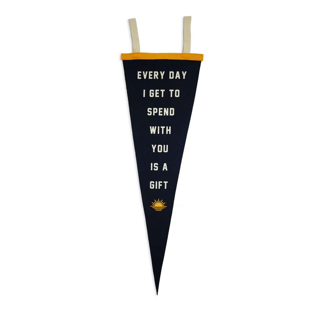 Kelle Hampton x Oxford Pennant - Every Day is a Gift Pennant