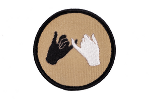 Pinky Swear - Embroidered Patch