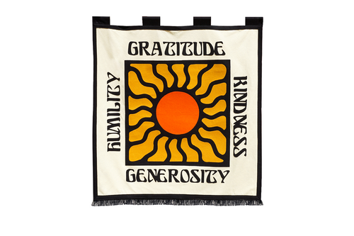 Gratitude Championship Banner • Real Fun, Wow! x Oxford Pennant Original