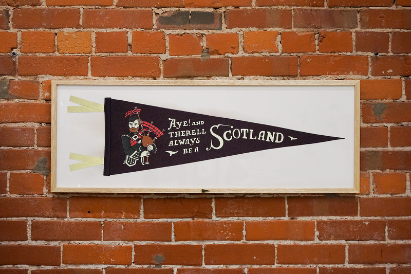 Aye! And There'll Always Be a Scotland Pennant • Oxford Pennant Original