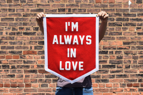 I'm Always In Love Camp Flag • Wilco x Oxford Pennant