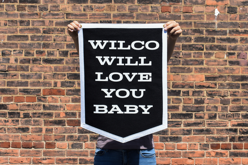 Wilco Will Love You Baby Camp Flag • Wilco x Oxford Pennant