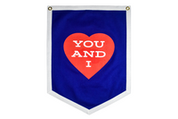 Wilco x Oxford Pennant • Camp Flag and Championship Banner - You and I