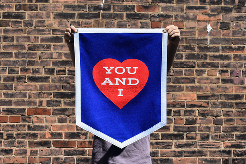 You and I Camp Flag • Wilco x Oxford Pennant