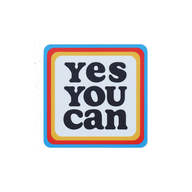 Kelle Hampton x Oxford Pennant - Yes You Can Sticker