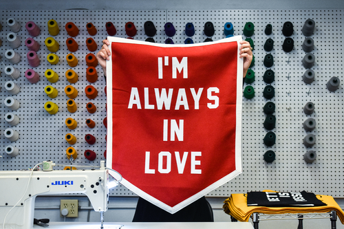I'm Always In Love Championship Banner • Wilco x Oxford Pennant