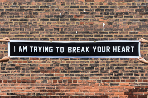I Am Trying To Break Your Heart Championship Banner • Wilco x Oxford Pennant