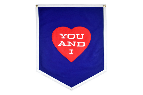 You and I Championship Banner • Wilco x Oxford Pennant
