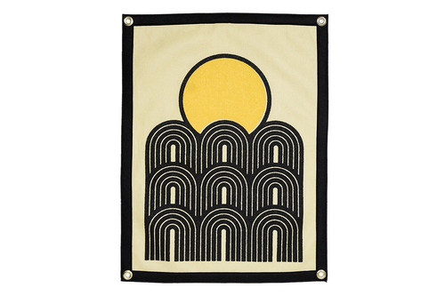 Sunset Camp Flag • Real Fun, Wow! x Oxford Pennant